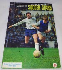 FKS Soccer Stars : Season 1968-69 Sticker Album  :: 100% Complete : Very Rare