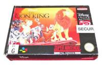 The Lion King Super Nintendo SNES Boxed PAL
