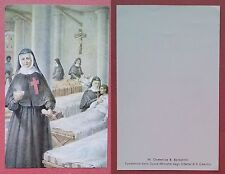 Santino Holy Card: M. Domenica B. Barbantini