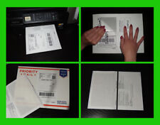 250 SHIPPING LABELS with Paper RECEIPT 4 EBAY PAYPAL USPS Laser & Inkjet Printer