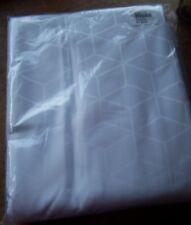 Holiday Inn Express Custom Jacquard Weave Duvet Cover Full Size 81.5 x 87 White