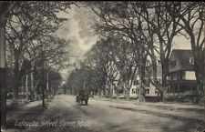 Salem Ma Lafayette St. c1910 Postcard #2