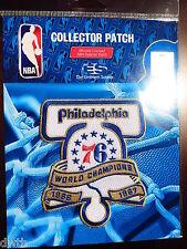 Philadelphia 76ers 50th Anniversary of 1966/7 NBA Championship Iron or Sew Patch