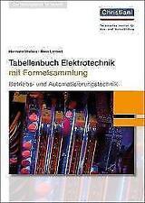 Tabellenbuch Elektrotechnik von Hans Lennert und Hermann Wellers (2017, Gebundene Ausgabe)