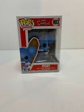 FUNKO POP! ANIMATION: Simpsons- Itchy MINT W/ Protector! IN STOCK