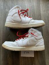Air jordan 1 I size 8.5 all white, basketball shoes