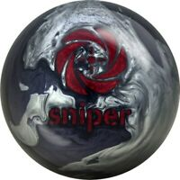 New Motiv Sniper Black/Silver Bowling Ball | 1st Quality 16#