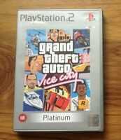 Grand Theft Auto: Vice City -- Platinum Edition with manual & map. Free UK P&P