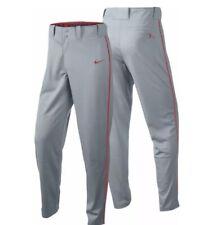 Nike Dri Fit Swingman Men's Gray Orange Small Baseball Softball Sliding Pants