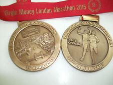 35TH ANNIIVERSARY LONDON MARATHON OFFICIAL'S MEDAL 2015