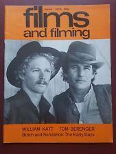 Films and Filming Movie Magazine Mar 1979 William Katt, Tom Berenger #B1790