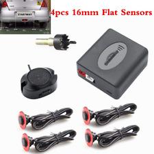4XAdjustable 16mm Flat Hidden Sensors Car SUV Parking Sensors Reverse Backup Kit