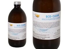 Eco- Clean Liquid Soap Fragrance Free, 1 Glass Bottle of 500ml