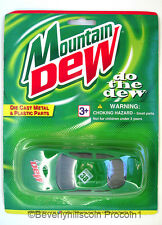 Mountain Dew Golden Wheel Special Edition Die Cast  Racing Sports Car