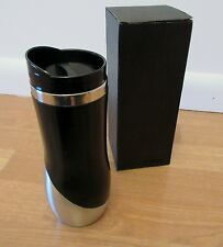 Curved Stainless Travel Tumbler 16oz