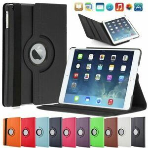 360° Apple IPAD Air 2 Protection Case Smart Cover Case Pouch 10F