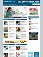 HOME BUSINESS TIPS WEBSITE WITH BLOG AND AFFILIATES + NEW DOMAIN AND HOSTING