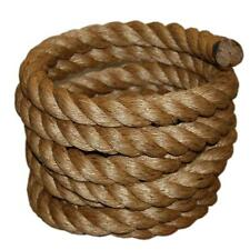"""1-1/2"""" Manila Rope Cut / Sold By Foot $1.30/foot Nautical Landscape Fitness Dock"""