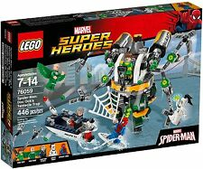 LEGO 76059 Marvel's Spider-Man: Doc Ock's Tentacle Trap - Brand New Sealed