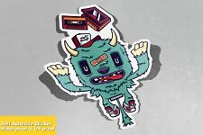 Mixed Tape Monster Vinyl Sticker Decal Window Car Van Bike 4395