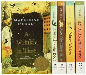 A Wrinkle In Time Quintet - Madeleine L'Engle, 5x books, Great Condition