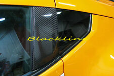 For 09~17 370Z Z34 Carbon Fiber Door Trim B-Pillar Panel Posts Cover Nissan