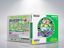 Pokémon Green Version - GB - Replacement - Cover / Case - NO Game - JAP/US