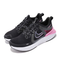 Nike Wmns Legend React 2 Black Grey Pink Womens Running Shoes AT1369-004