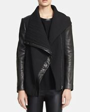 "Helmut Lang ""Blizzard"" High Collar Textured Jacket Sz.P NWT Retail:$995.00"