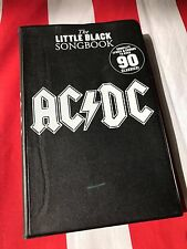 AC/DC The Little Black Songbook Complete Lyrics Guitar Chords Book NEW!