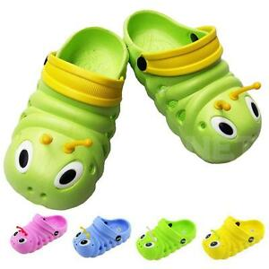 NEW eva kids girl boy water sandals shoes 2 TONE caterpillar - PICK SIZE / COLOR