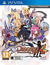 Disgaea 4: A Promise Revisited (PS Vita) - BRAND NEW & SEALED