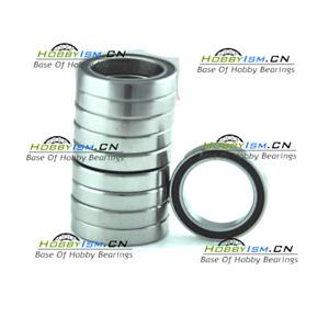 10pcs 6x11x4mm Chrome steel rubber Ball Bearings ABEC-3  MR116 2RS