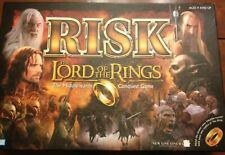 Lord of the Rings Risk The Middle-earth Conquest Game Complete Used
