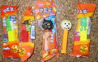 Pez Dispensers Witch Glow in Dark Pumpkin Ghoul Black Cat