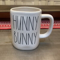 Rae Dunn By Magenta - LL HUNNY BUNNY 2 Sided Ceramic Coffee Mug Easter 🐣 Spring