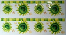 Fish Permanent Rub on Transfer Decal Glass Tiles Plastic 10cm DIY Dt89