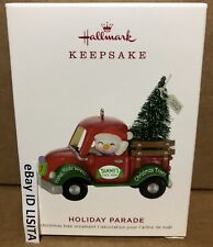 Hallmark 2019 Holiday Parade Ornament First in Series Mint in Box