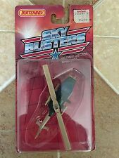 New 1988 Matchbox Sky Busters Military Diecast Aircraft Mission Chopper Blister