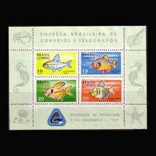 Brazil, Sc, #1130, MNH, 1969, S/S, Marine Life, Fish, ML301