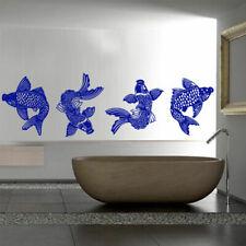 Wall Decal Koi Fish Carp Japan Symbol Happiness Water Dragon China M896