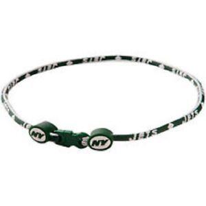 "New York Jets 21"" Titanium Sport Necklace New"