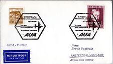 B0171- 1er  LIAISON AERIENNE     INNSBRUCK   AMSTERDAM   AUA