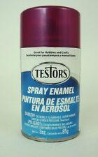Testors  PURPLE METAL FLAKE Candy Enamel Spray Paint Can  3 oz. 1631