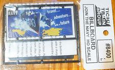 Tichy Train Group #8400 (Billboard Kit) Join The Navy (Plastic Kit)