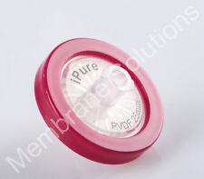 Non Sterile Syringe Filters PVDF 25 mm Diameter 0.22 um Pore Size 10/pk