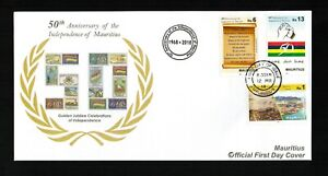 Mauritius Official First Day Cover 12.03.2018
