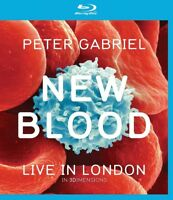 PETER GABRIEL - NEW BLOOD: LIVE IN LONDON (BLURAY) EAGLE VISION  BLU-RAY NEW+
