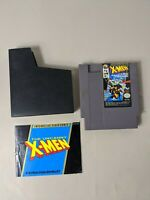 The Uncanny X-Men w/ Manual dust cover  (Nintendo, NES) Authentic game, Tested