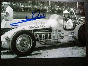 MARIO ANDRETTI Authentic Hand Signed Autograph 4X6 Photo - RACE CAR LEGEND